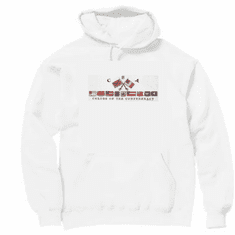 novelty pullover hooded hoodie Sweatshirt CSA colors of confederacy Dixie southern south confederate