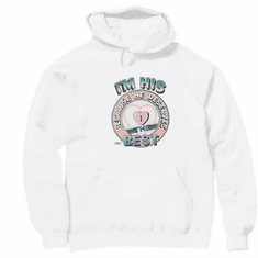 novelty pullover hooded hoodie sweatshirt I'm HIS because he deserves the best
