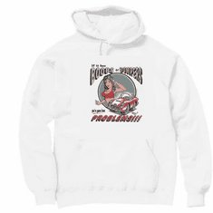 novelty pullover hooded hoodie sweatshirt if boobs or bumpers you're going to have problems