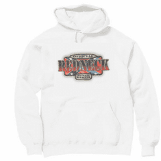 novelty pullover hooded hoodie sweatshirt official REDNECK since birth dixie confederate flag southern rebel