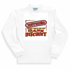 novelty retirement long sleeve t-shirt or sweatshirt I'm RETIRED now give me my damn discount