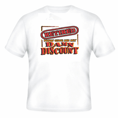 novelty retirement t-shirt I'm RETIRED now give me my damn discount