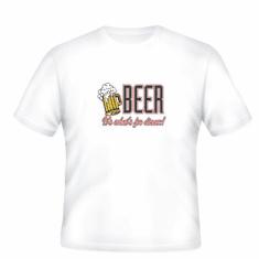 novelty T-shirt BEER it's what's for dinner