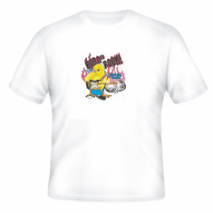 novelty t-shirt Born to Rock Chicks rule