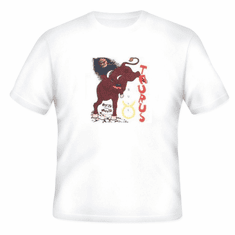 novelty T-shirt horoscope new age Taurus bull