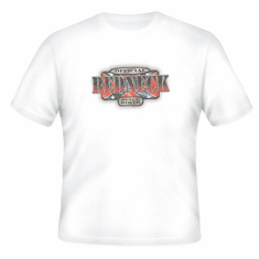 novelty T-shirt official REDNECK since birth dixie confederate flag southern rebel