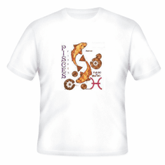 Novelty t-shirt PISCES horoscope new age