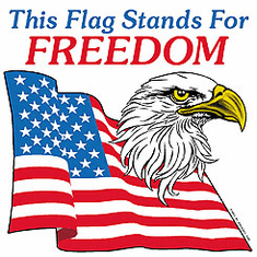 Patriotic American Eagle This Flag stands for FREEDOM shirt