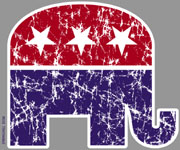 Patriotic American Elephant Republican shirt