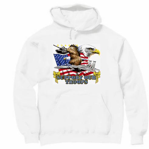 cheap for discount 7d7a1 1c9f3 Patriotic American Flag Eagle Support our Troops yellow ...