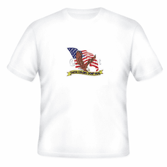 Patriotic American Flag Eagle These colors don't run t-shirt shirt