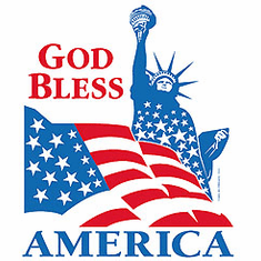 Patriotic American Flag God Bless America shirt
