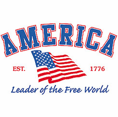 Patriotic American Flag Leader of the Free World Est. 1776 shirt