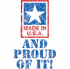 Patriotic American Made in USA and Proud of it shirt
