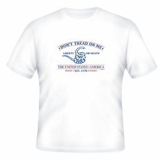 Patriotic Don't tread on me Liberty or Death The United States of America Est 1776 t-shirt shirt