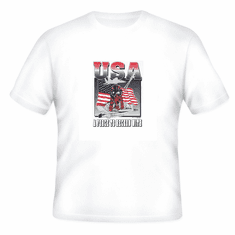 Patriotic Flag USA a force to reckon with t-shirt shirt