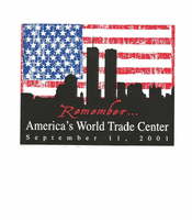 Patriotic Remember America's World Trade Center September 11th, 2011 shirt