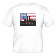 Patriotic Remember America's World Trade Center September 11th, 2011 t-shirt shirt
