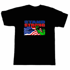 Patriotic Stand Strong American Flag t-shirt shirt