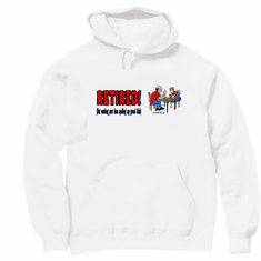 Pullover Hoodie Sweatshirt: RETIRED but working part time spoiling my grandkids
