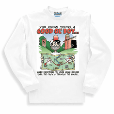 Redneck You know you're a Good Ol' Boy When directions to your house include over the crick through the holler long sleeve t-shirt shirt sweatshirt