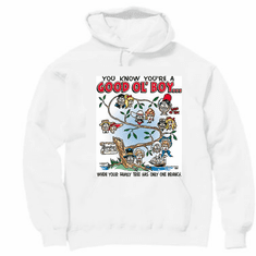 Redneck You know you're a Good Ol' Boy When your family tree only has one branch hoodie hooded sweatshirt