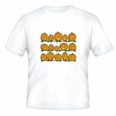 Seasonal Autumn Fall Halloween pumpkins jack o lantern t-shirt shirt