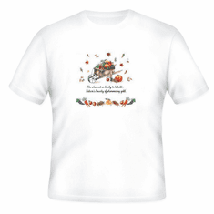 Seasonal Autumn Fall harvest so great to behold natures' bounty of shimmering gold t-shirt shirt