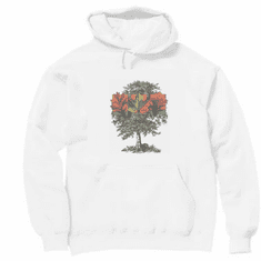 Seasonal Autumn fall tree hoodie hooded sweatshirt