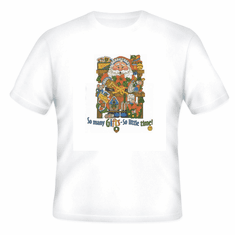 Seasonal Christmas Santa So many gifts so little time t-shirt shirt