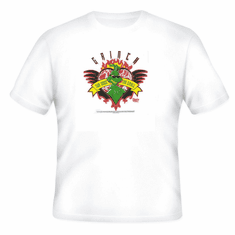 Seasonal Holiday Christmas Grinch Heart Two sizes to small t-shirt shirt