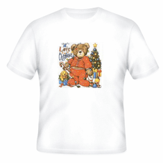 Seasonal I Love Christmas Teddy Bear t-shirt shirt