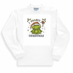 Seasonal I toadly love Christmas long sleeve t-shirt shirt sweatshirt