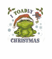 Seasonal I toadly love Christmas shirt