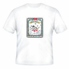 Seasonal Winter Frosty Flakes Snowman Snowmen t-shirt shirt
