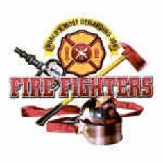 shirt FIREFIGHTERS  firemen fireman fire fighter department