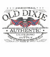 shirt Original authentic Old Dixie confederate flag southern