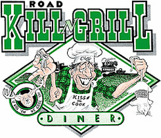 Shirt:  Road Kill Grill Diner