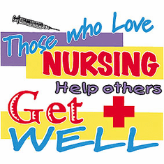 shirt: Those who love nursing help others get well