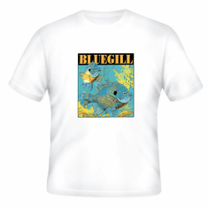 Sports Fishing Bluegill fish t-shirt shirt