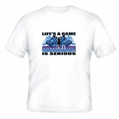 Sports Life's A Game Cheerleading is Serious t-shirt shirt