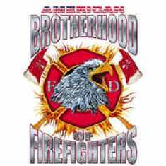 T-shirt: American brotherhood of firefighters firemen