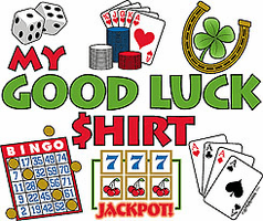 T-Shirt: My Good Luck Shirt - Bingo Gambling