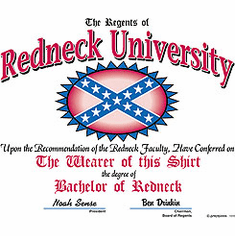 T-Shirt:  Redneck University