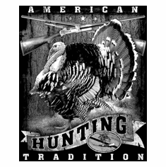 Thanksgiving Turkey hunting shirt American Tradition