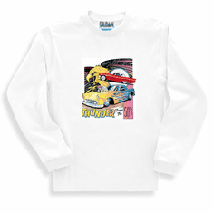 Thunder from the 50's antique car long sleeve t-shirt sweatshirt