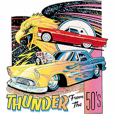 Thunder from the 50's antique car shirt