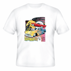 Thunder from the 50's antique car t-shirt shirt
