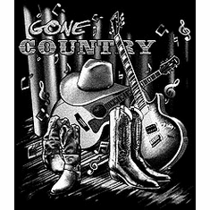Western Gone Country Music t-shirt shirt