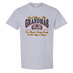 WHOLESALE 6 Pack Family T-shirts  God Bless The Grandmothers Grandma